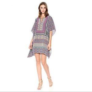 Trina Turk Silk Kaftan Dress.